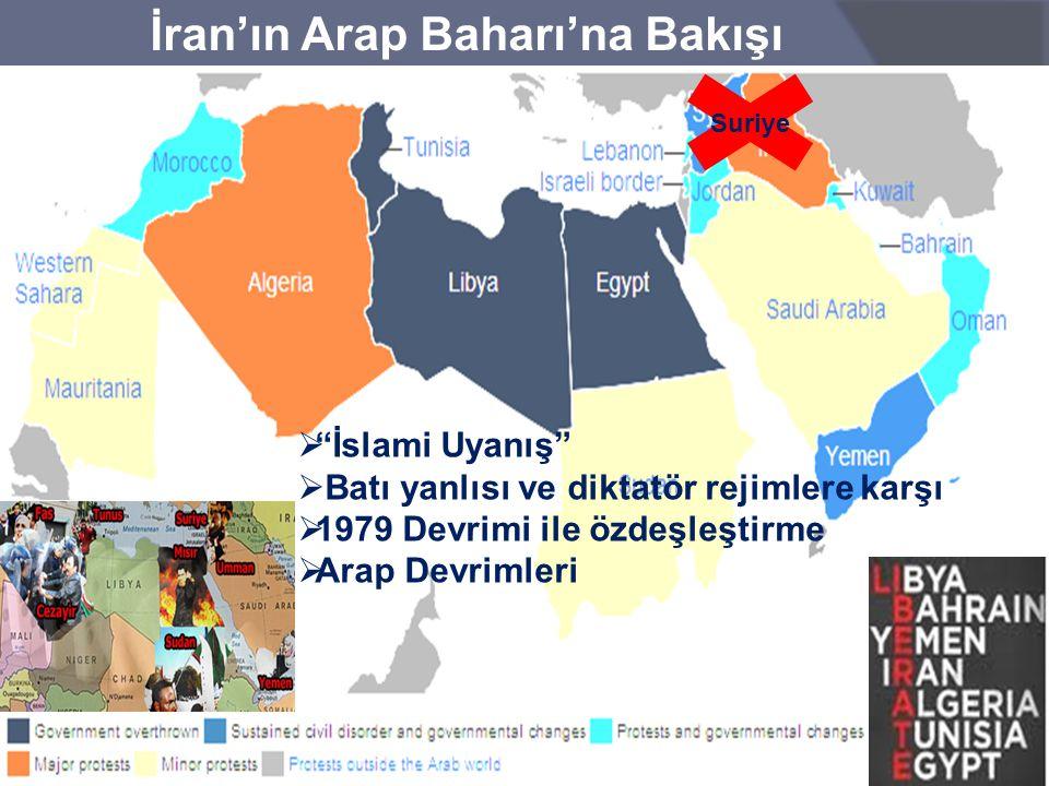 İran'ın Arap Baharı'na Bakışı