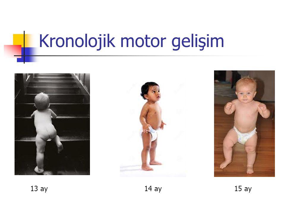 Kronolojik motor gelişim