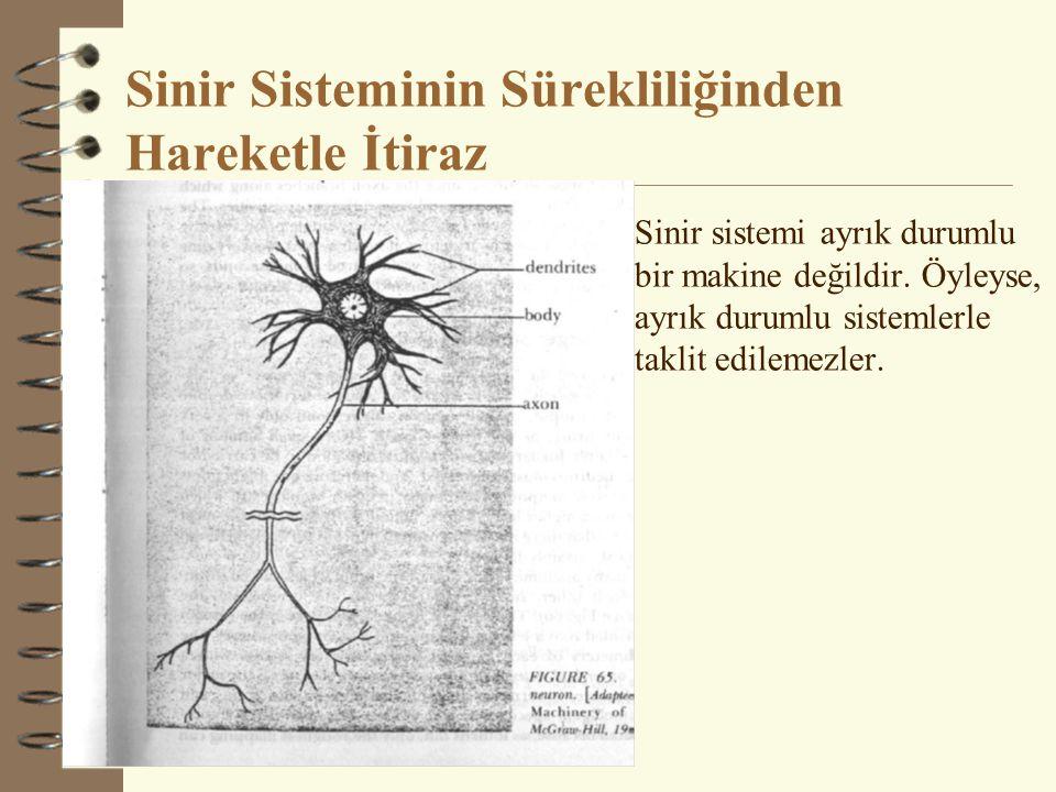 Sinir Sisteminin Sürekliliğinden Hareketle İtiraz