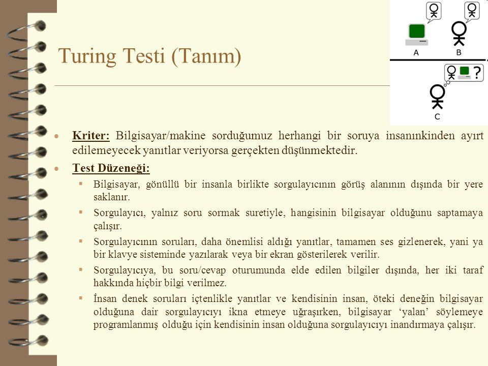 Turing Testi (Tanım)