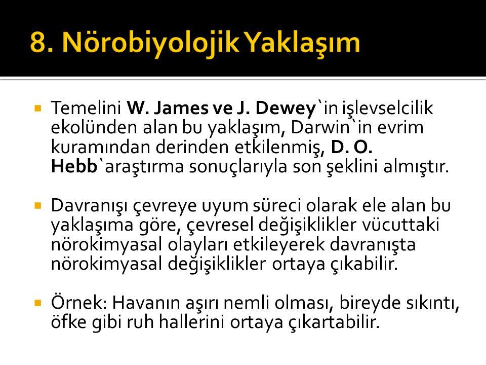 8. Nörobiyolojik Yaklaşım