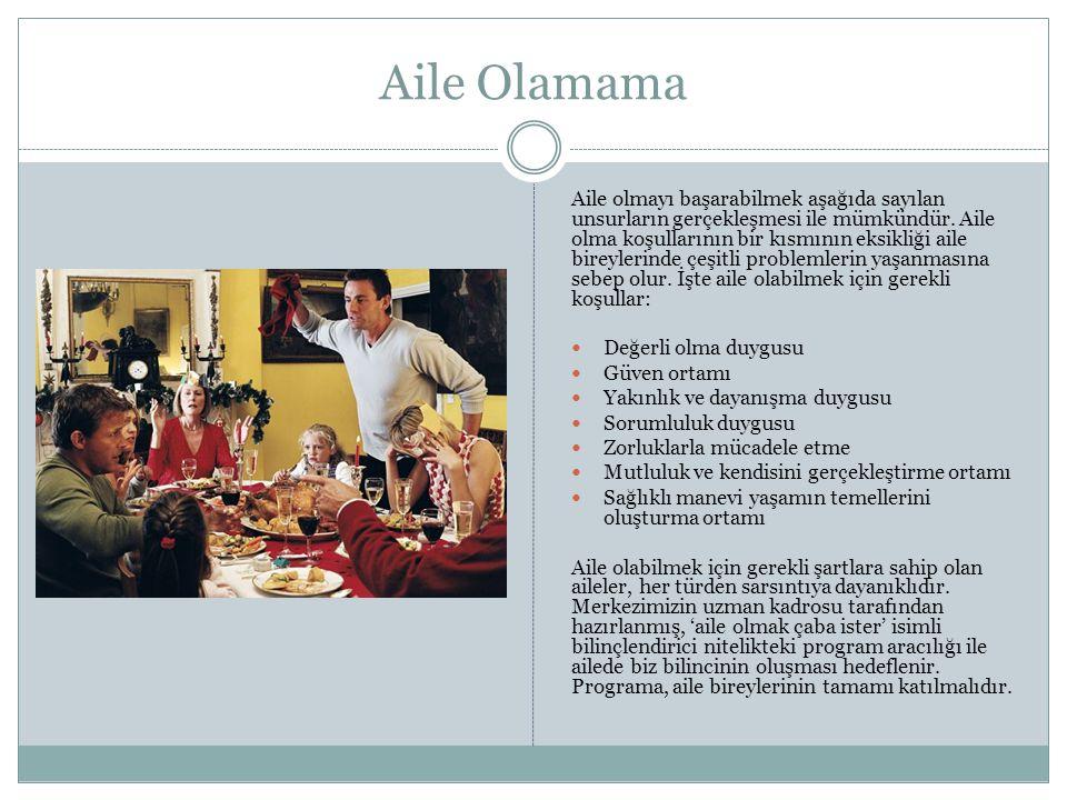Aile Olamama