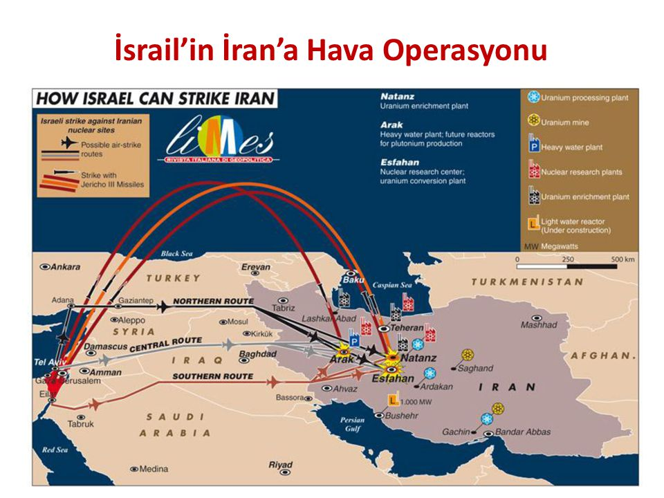 İsrail'in İran'a Hava Operasyonu