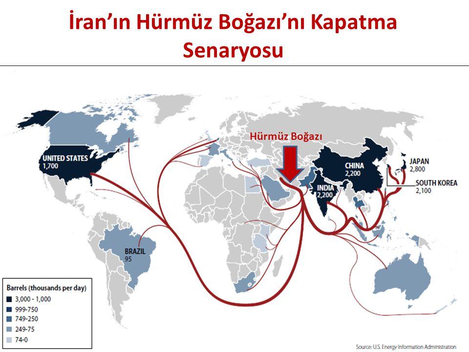 İran'ın Hürmüz Boğazı'nı Kapatma