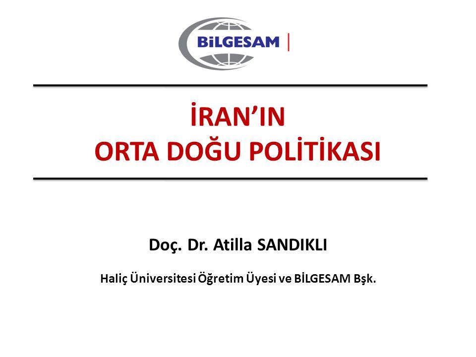 Haliç Üniversitesi Öğretim Üyesi ve BİLGESAM Bşk.