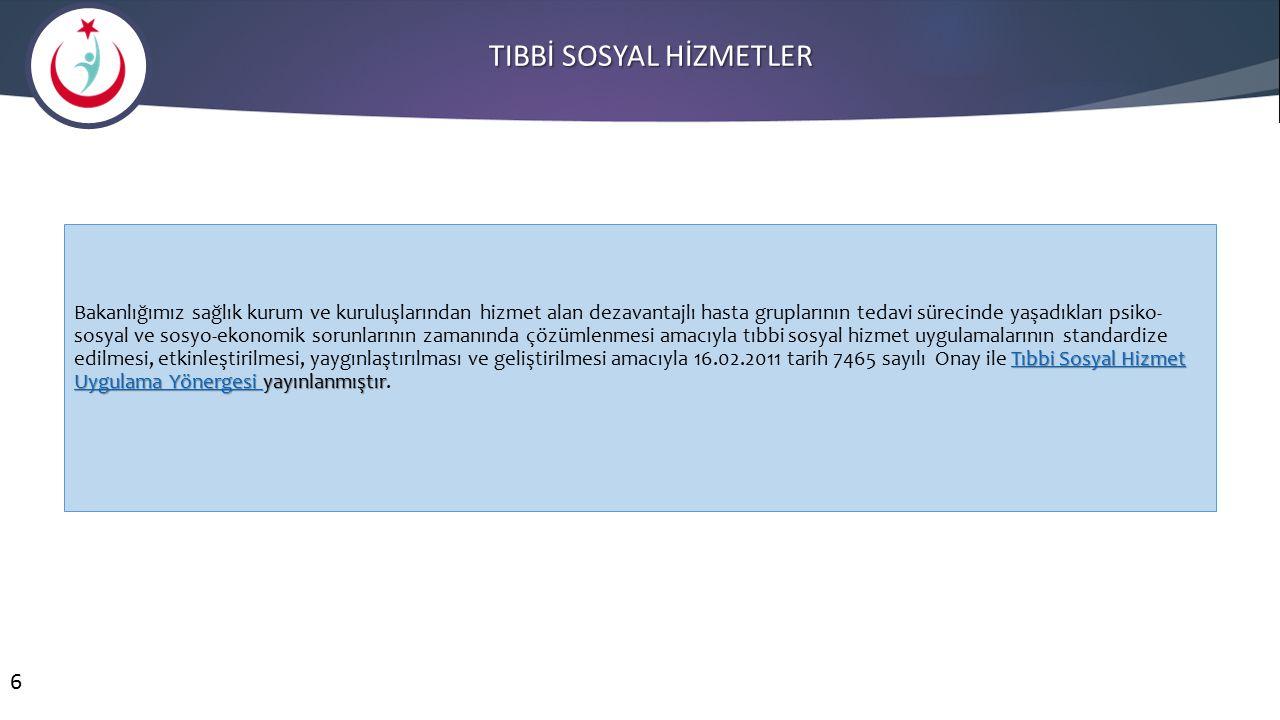 TIBBİ SOSYAL HİZMETLER