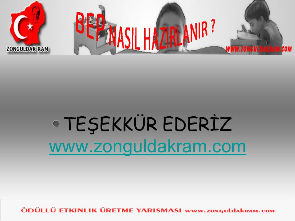 TEŞEKKÜR EDERİZ www.zonguldakram.com
