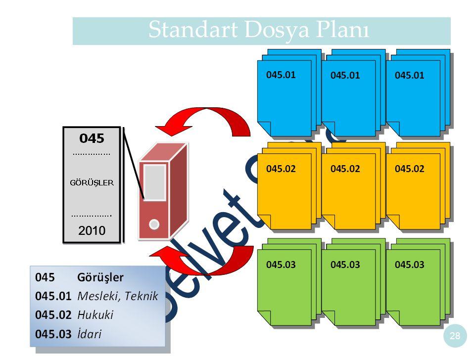Standart Dosya Planı 28