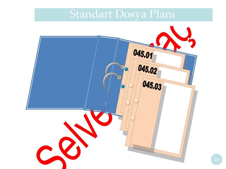 Standart Dosya Planı 29
