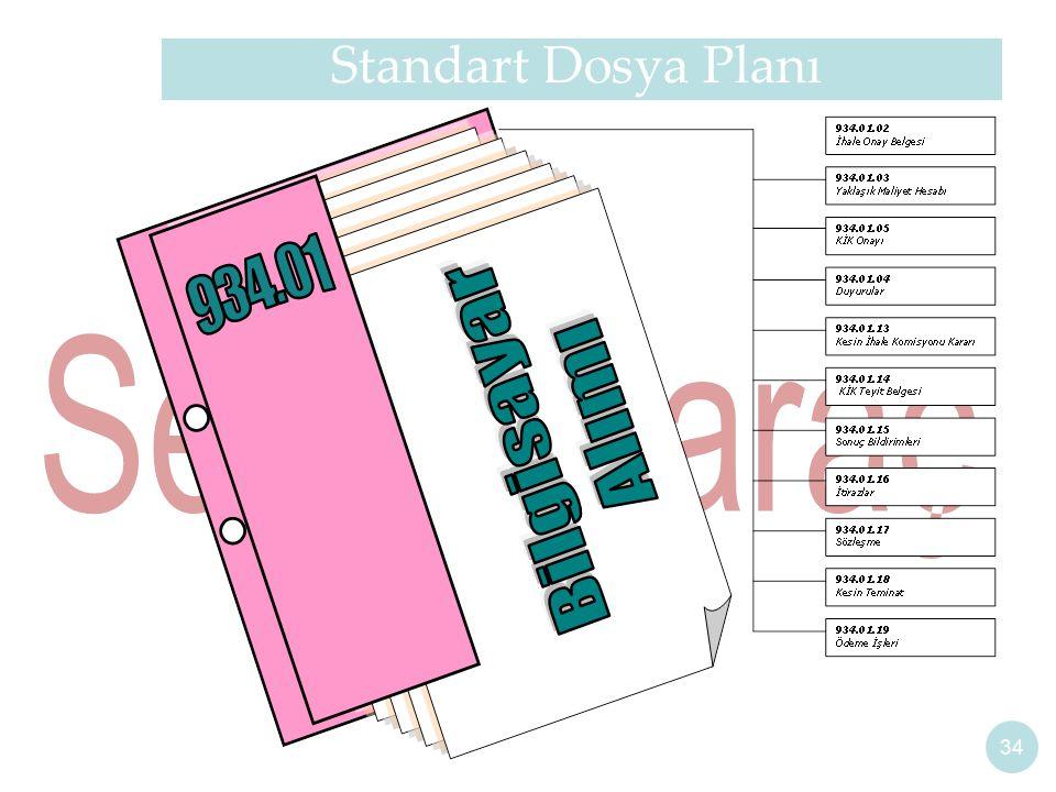 Standart Dosya Planı 34