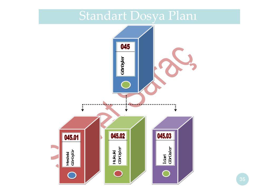 Standart Dosya Planı 35