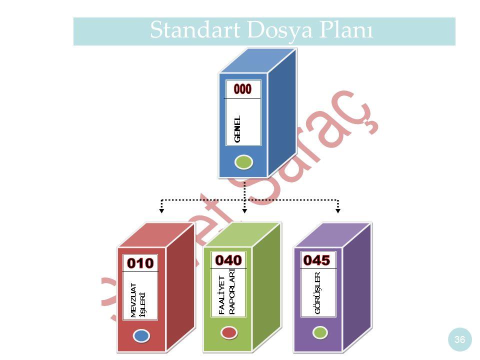 Standart Dosya Planı 36