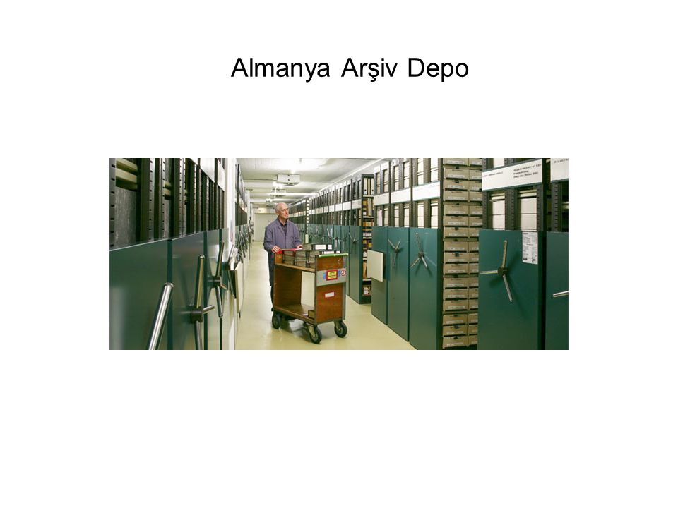Almanya Arşiv Depo