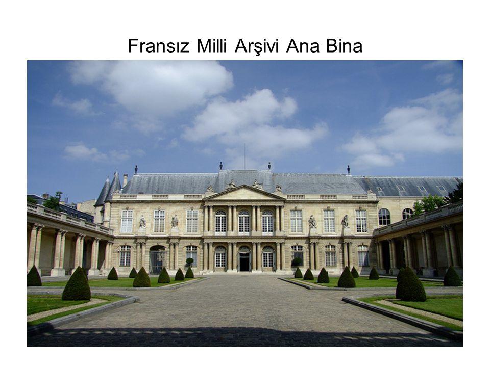 Fransız Milli Arşivi Ana Bina