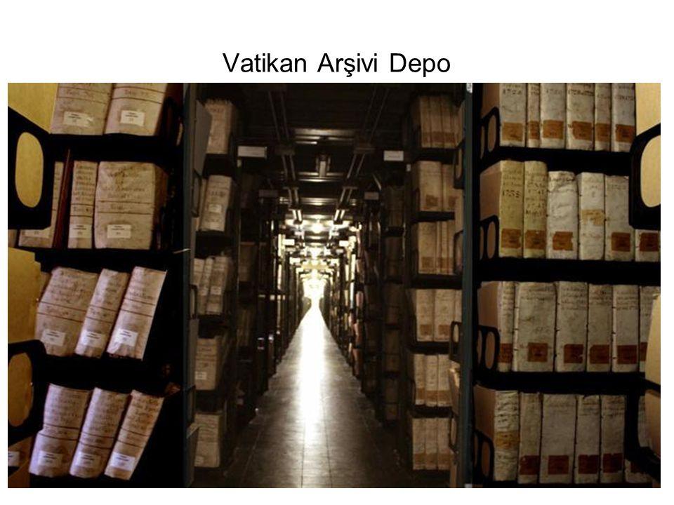 Vatikan Arşivi Depo