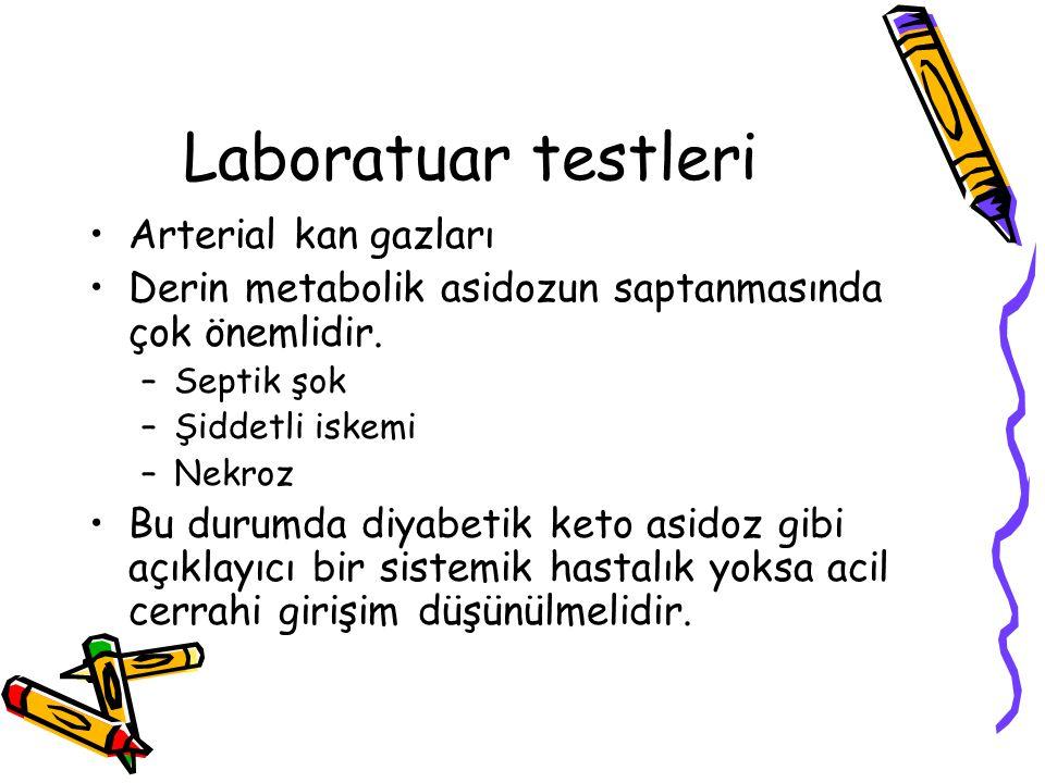 Laboratuar testleri Arterial kan gazları