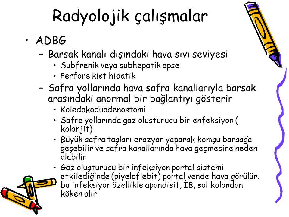 Radyolojik çalışmalar