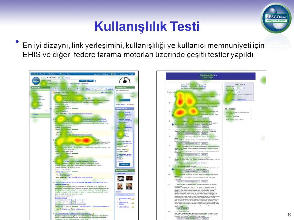 Kullanışlılık Testi