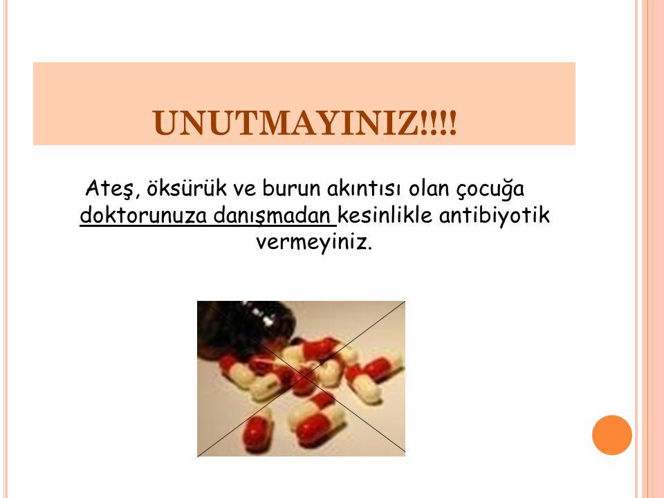 UNUTMAYINIZ!!!.