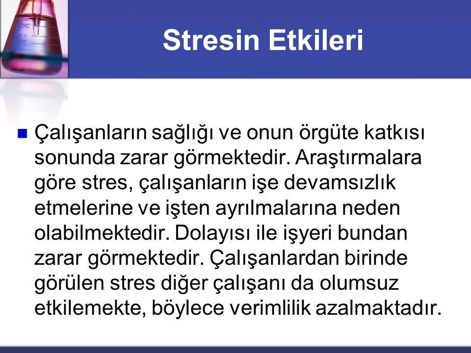 Stresin Etkileri