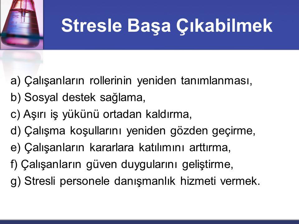 Stresle Başa Çıkabilmek