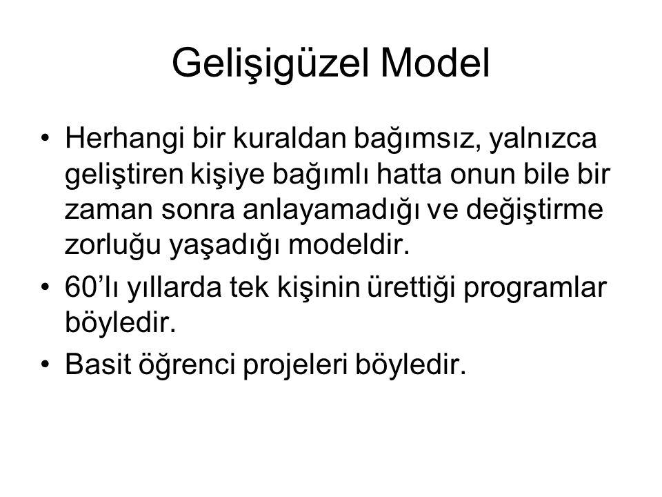 Gelişigüzel Model