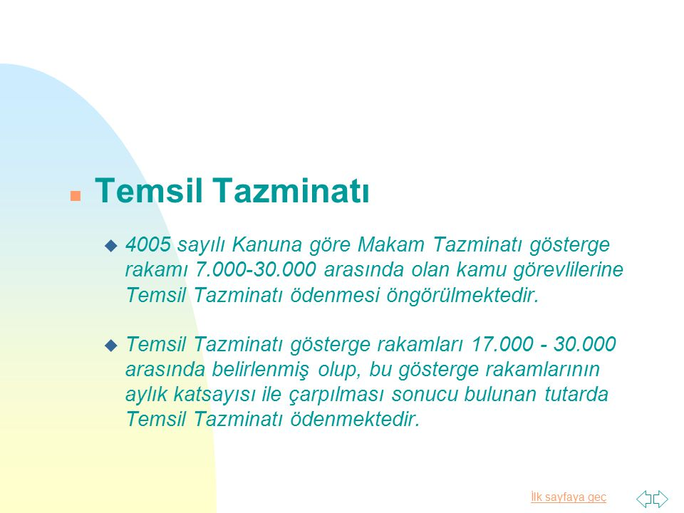 Temsil Tazminatı