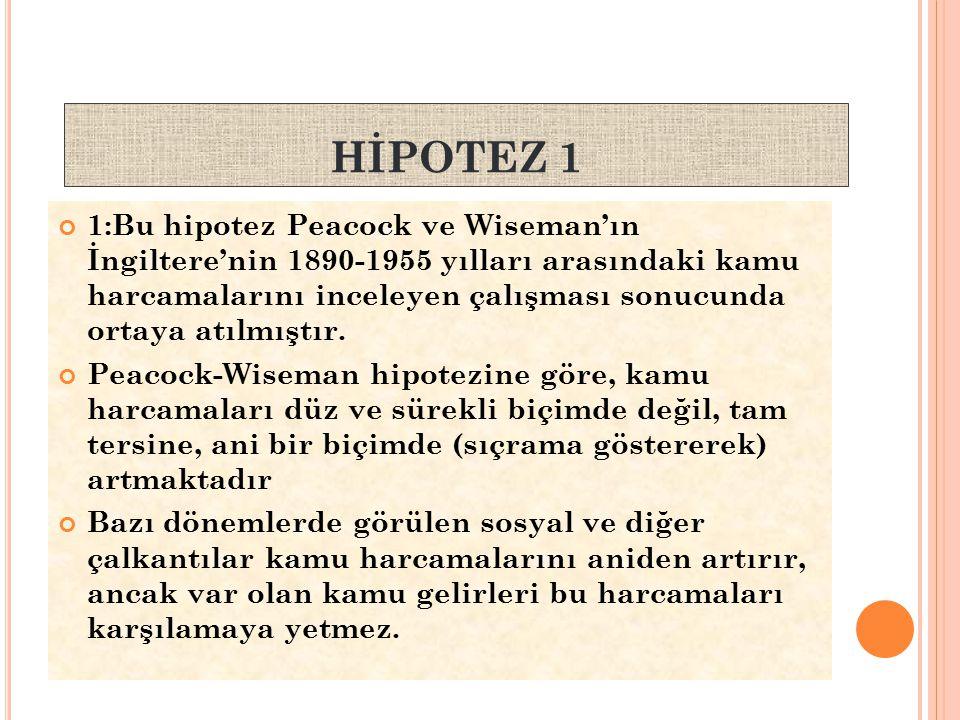 HİPOTEZ 1