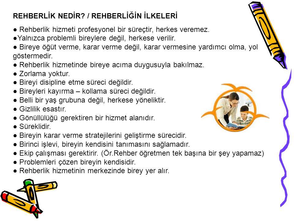 REHBERLİK NEDİR / REHBERLİĞİN İLKELERİ