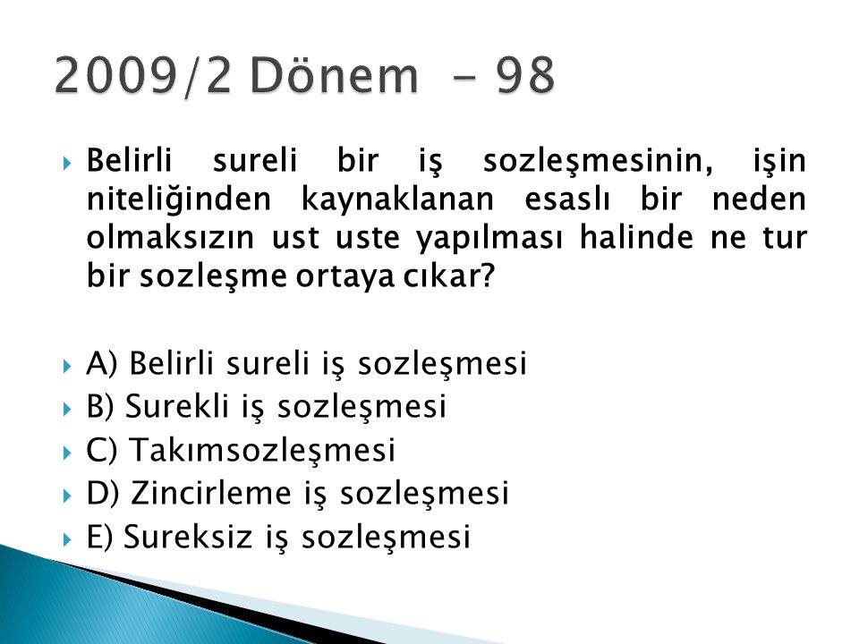 2009/2 Dönem - 98