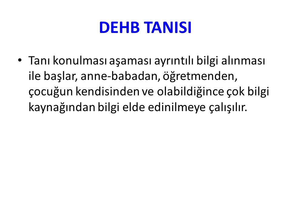 DEHB TANISI