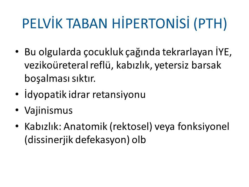 PELVİK TABAN HİPERTONİSİ (PTH)