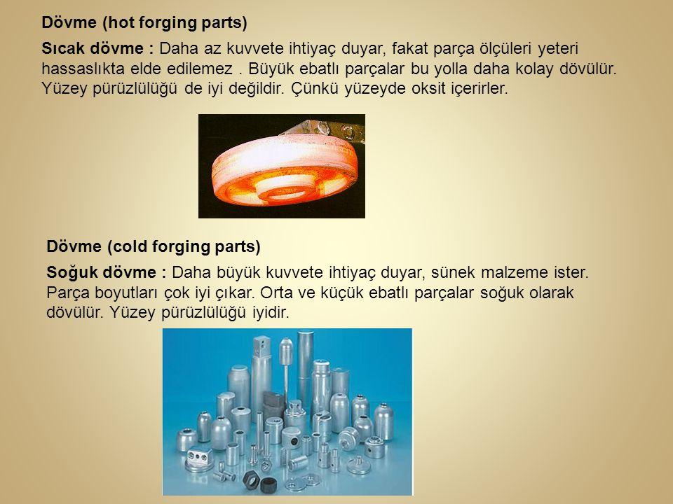 Dövme (hot forging parts)