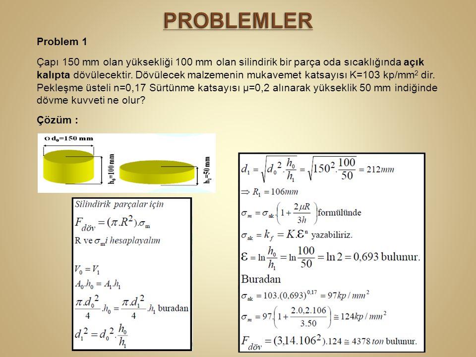 PROBLEMLER Problem 1.