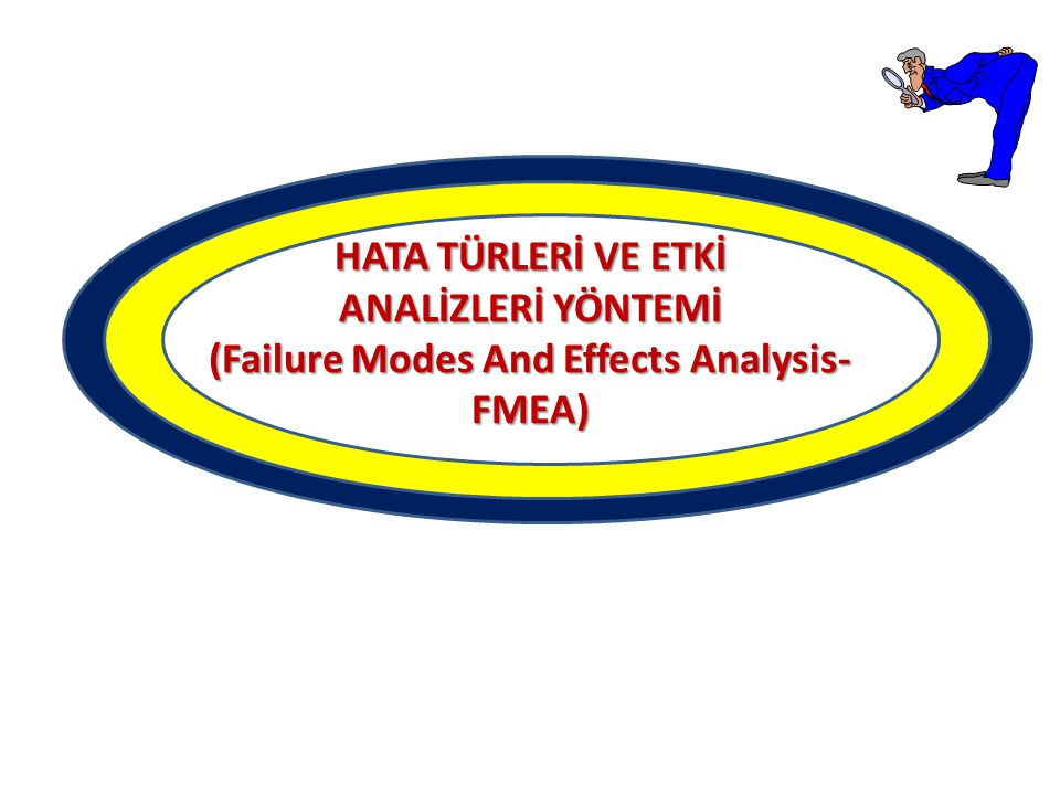 HATA TÜRLERİ VE ETKİ ANALİZLERİ YÖNTEMİ (Failure Modes And Effects Analysis- FMEA)