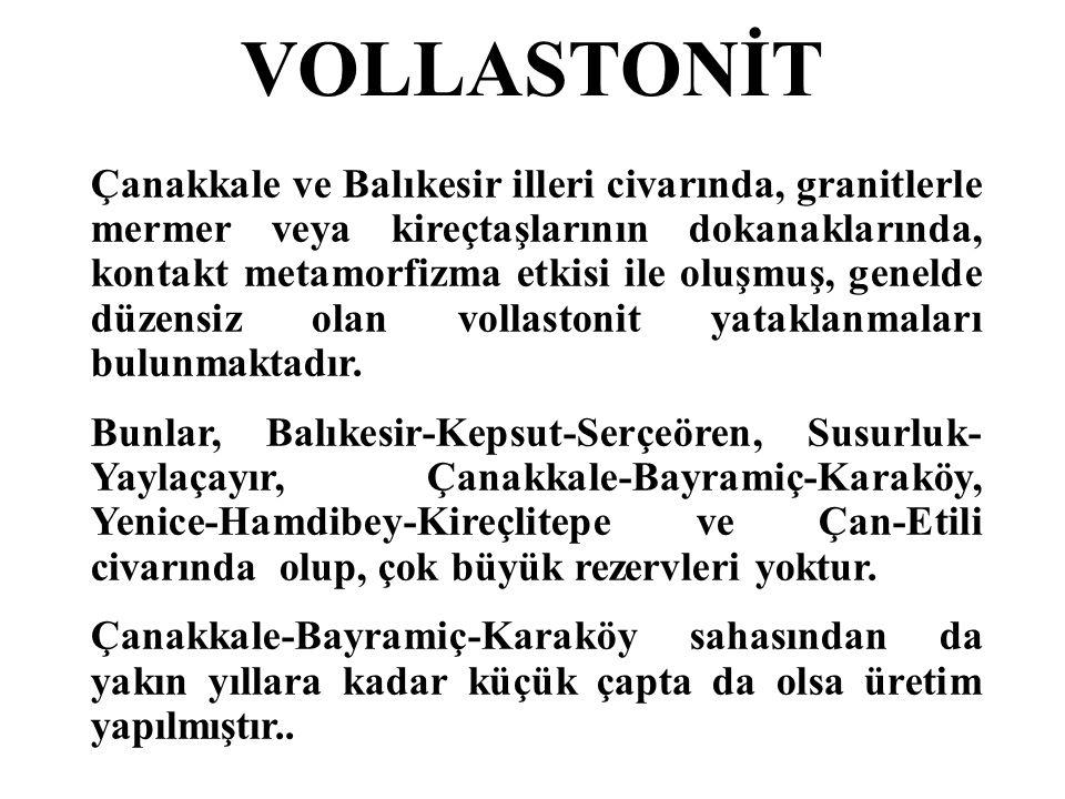 VOLLASTONİT