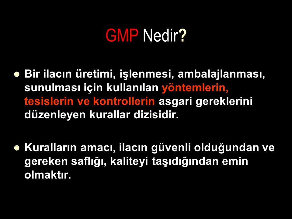 GMP Nedir