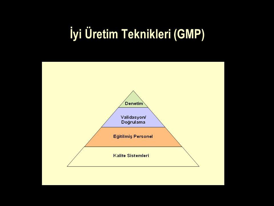 İyi Üretim Teknikleri (GMP)