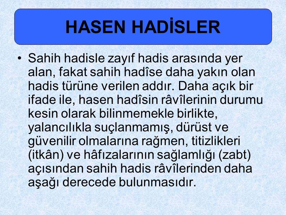 HASEN HADİSLER