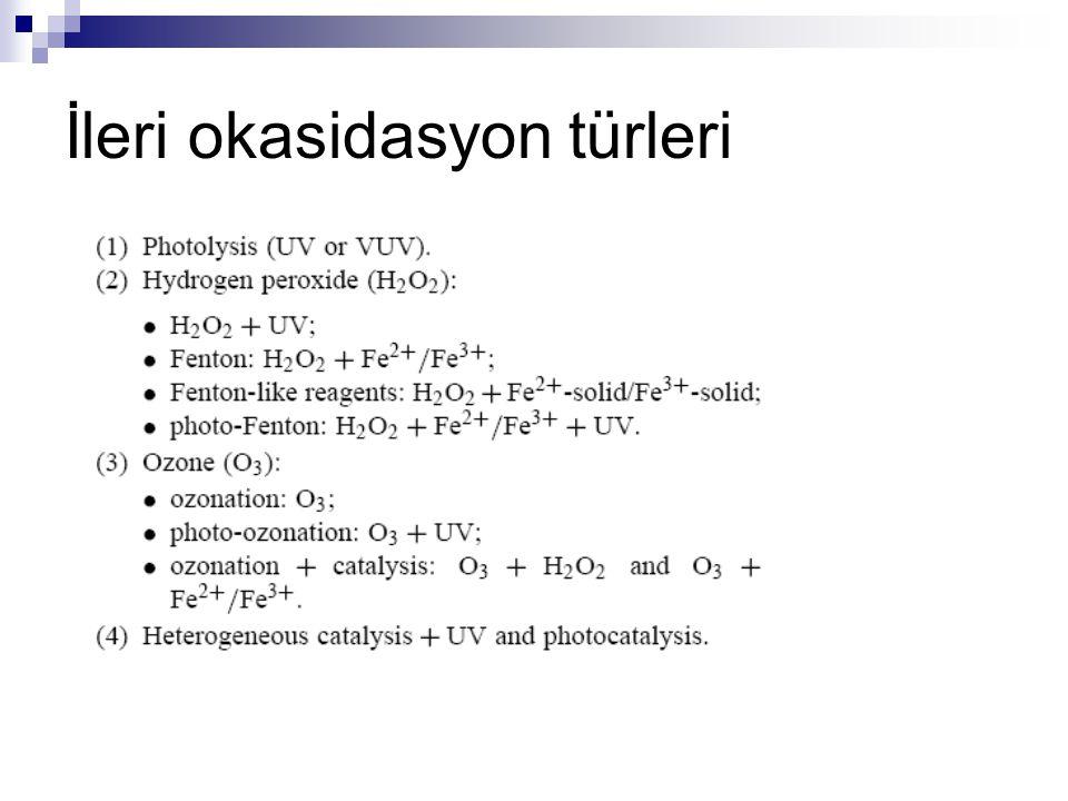 İleri okasidasyon türleri