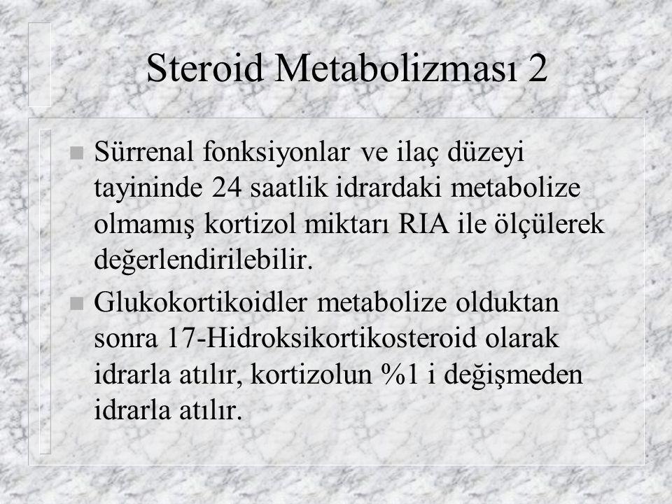 Steroid Metabolizması 2