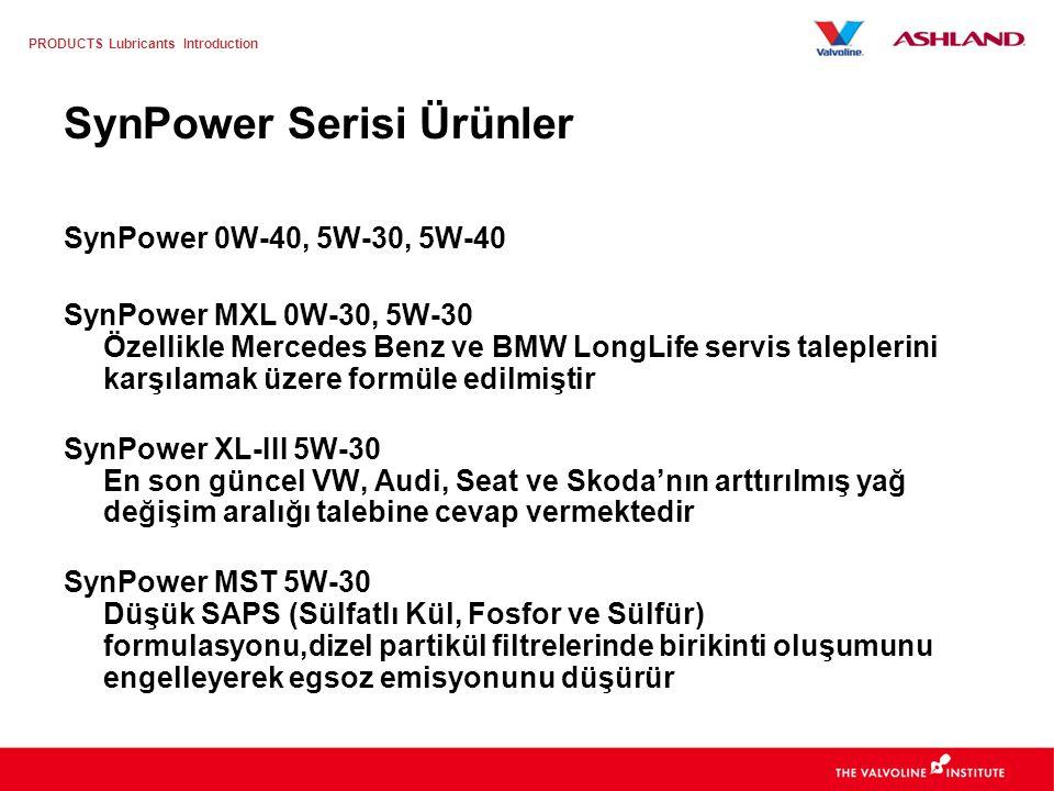 SynPower Serisi Ürünler