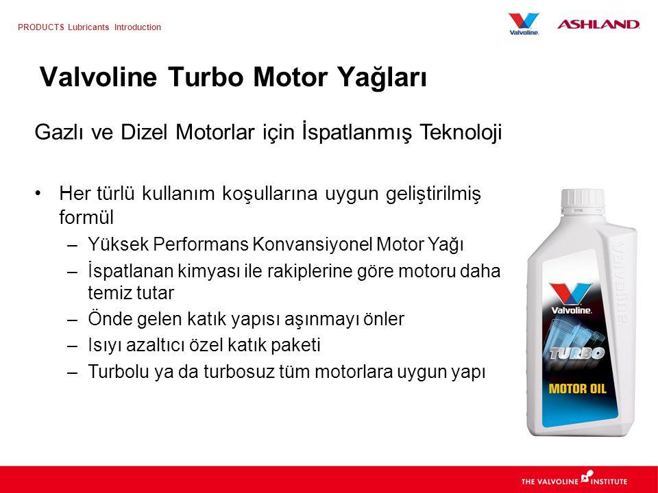 Valvoline Turbo Motor Yağları