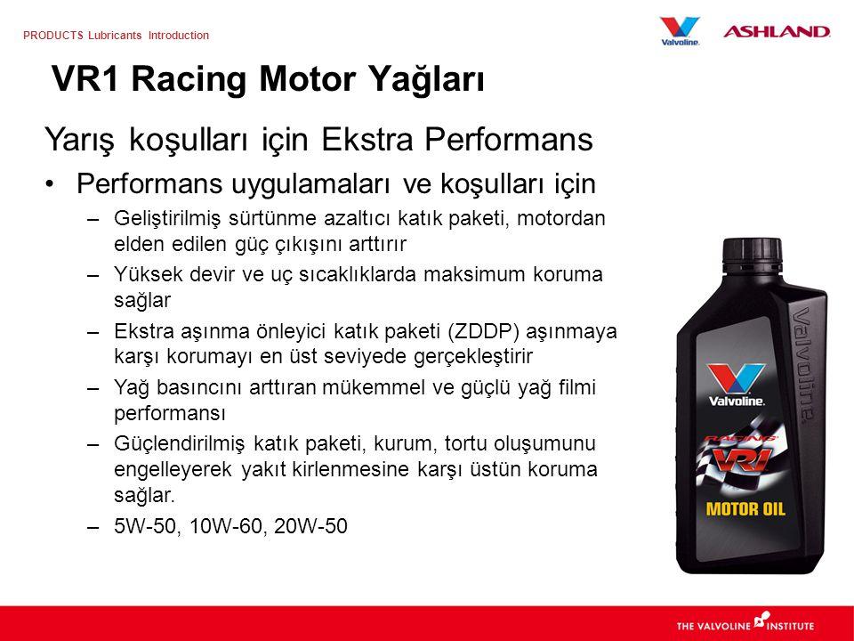 VR1 Racing Motor Yağları