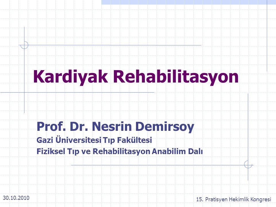 Kardiyak Rehabilitasyon