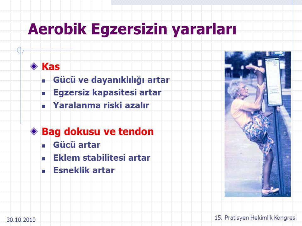 Aerobik Egzersizin yararları