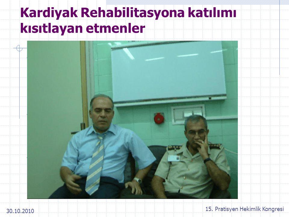 Kardiyak Rehabilitasyona katılımı kısıtlayan etmenler