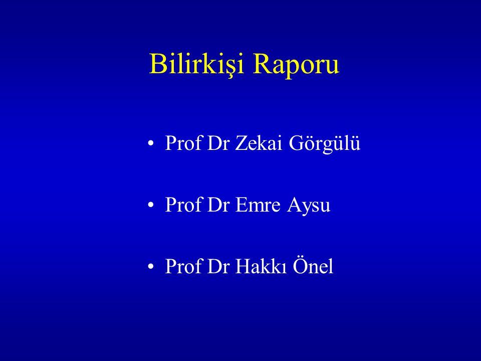 Bilirkişi Raporu Prof Dr Zekai Görgülü Prof Dr Emre Aysu