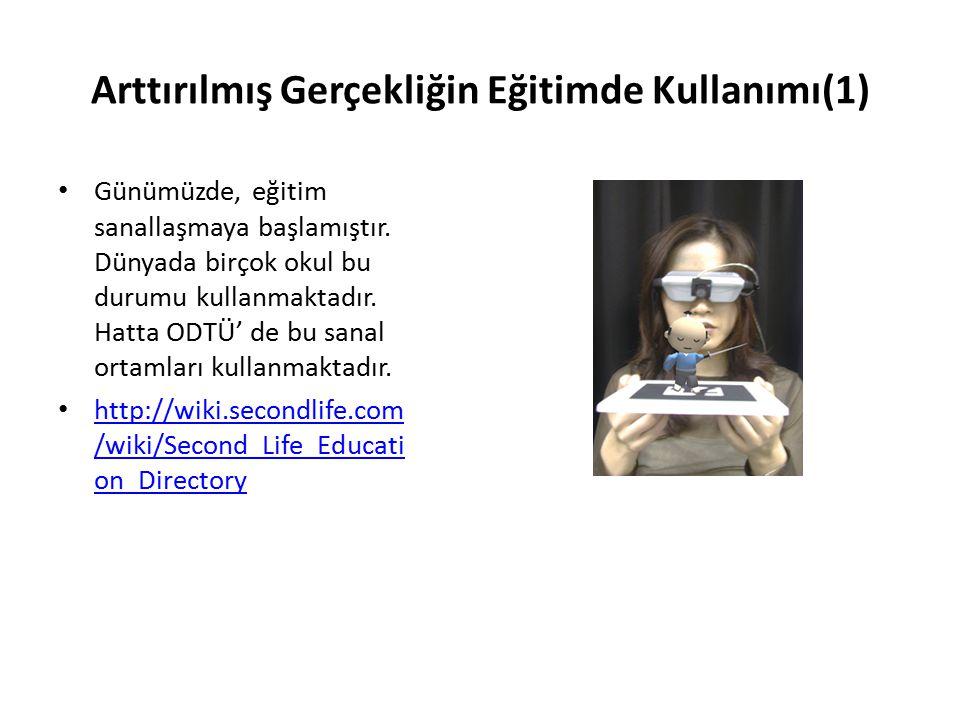 Arttırılmış Gerçekliğin Eğitimde Kullanımı(1)