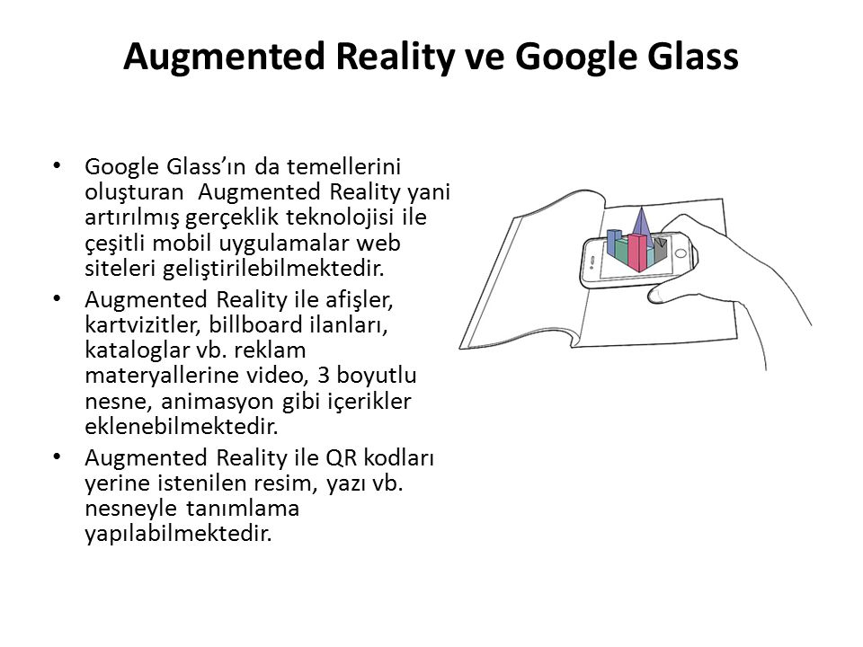 Augmented Reality ve Google Glass